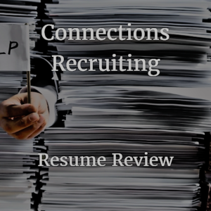 candidate resumes connections recruiting